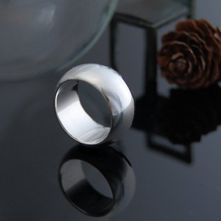 Classic Round Ring (Silver Mirror)