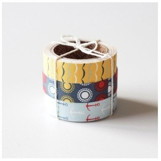Special offer to clear - Nordic wind cloth tape (three in) 24-Sailing, E2D94999