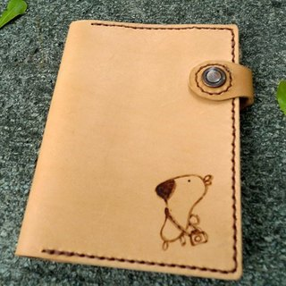 Life Series -gugu village cow leather passport cover _ multi-function models