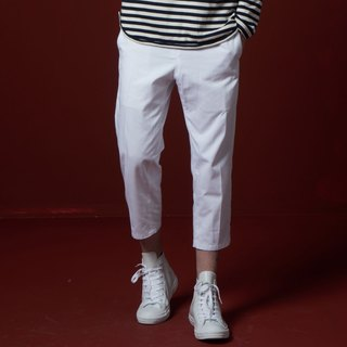 Stone'As suit pants / nine white trousers