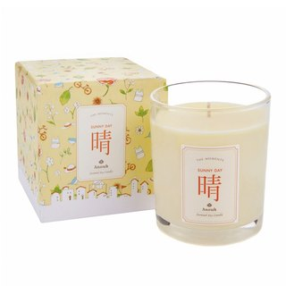 clear. Aromatherapy soy candles SUNNY DAY Scented Soy Candle