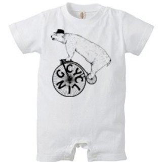 CYCLING BEAR(Rompers)