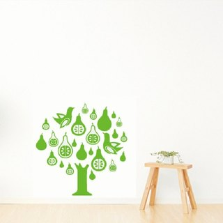 Wall stickers - creative Seamless Smart Design ◆ Pear
