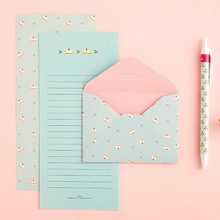 ARDIUM mini pastel stationery group (a group of three) - Mint Cake