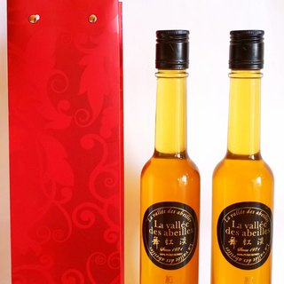 Wild Forest Red Flower Honey 530g X 2 Bottle + Gift Paper Bag