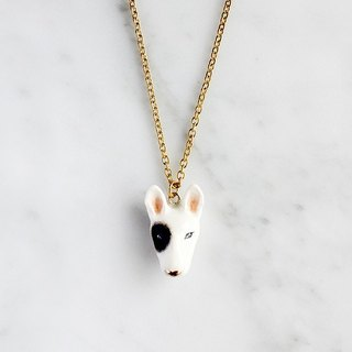 Bob bull terrier Necklace.