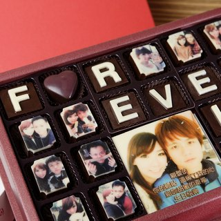 Happy Cocoa - Customized FOREVER LOVE chocolate gift letter