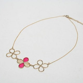 Great Deals ♡ ♡ Fuchsia necklace / JC1966