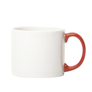 Jansen + co Cup XL - White + Red
