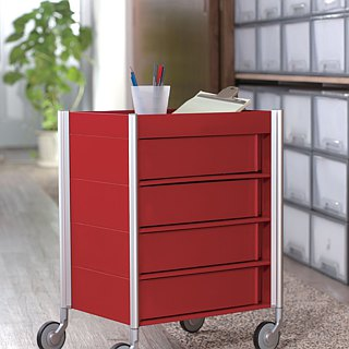 ALLY Med 4 Drawers Trolley
