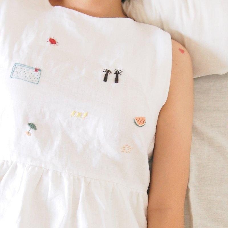 夏天來了 無袖洋裝 - Summer Dress