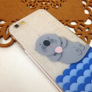 Otter Print Soft / Hard Case for iPhone X,  iPhone 8,  iPhone 8 Plus,  iPhone 7 case, iPhone 7 Plus case, iPhone 6/6S, iPhone 6/6S Plus, Samsung Galaxy Note 7 case, Note 5 case, S7 Edge case, S7 case