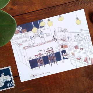 Small spaces postcards / small southerly Cafe