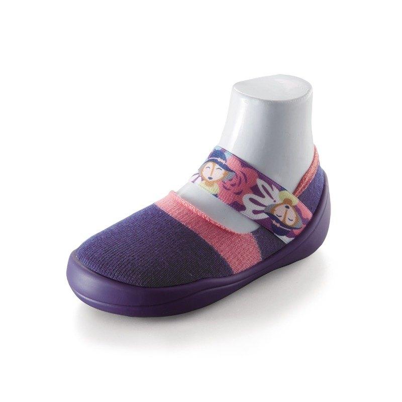 feebees學步鞋/襪鞋/室內外皆可穿 - 歡樂派/花語茶會