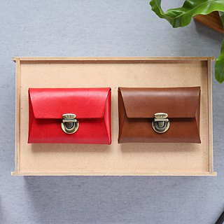 Shekinah Handmade Leather - Push Button Case