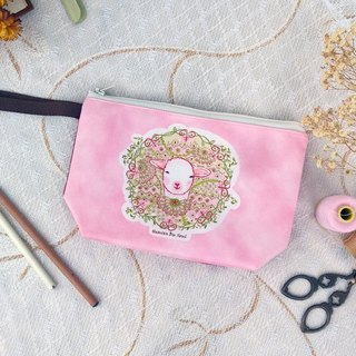 <Animals in the Secret Land> Proud Sheep Clutch Bag