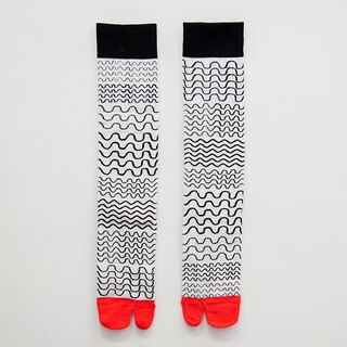 Sinking funds / Ninja stockings - red and black