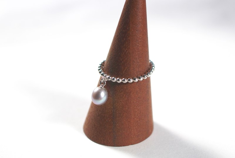 Freshwater Pearl Bling Silver