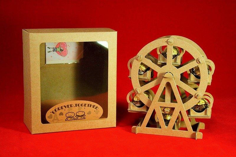 [巧克力遊樂園] 金莎摩天輪禮盒(含金莎款) / 情人節 聖誕節 畢業禮品 生日禮物 交換禮物首選