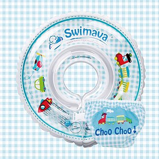 Swimava Train Baby Swimming Neck / Diaper Set