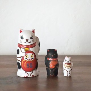 MATRYOSHKA 3sets Lucky cat
