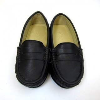 Fort Tony Wang leather handmade shoes kids [sheep / soled / dark coffee] ★ ★ Recommended section of Alexandria