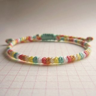 Beans lucky rope woven bracelet (optional color)