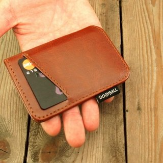 [Dogyball] will be simple and practical with accessories simple wallet Lite Wallet brown