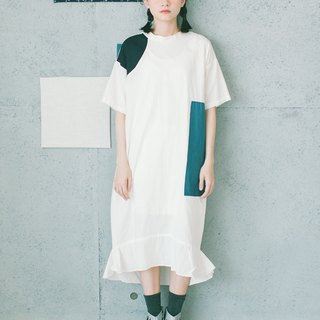 Nurse collar dress
