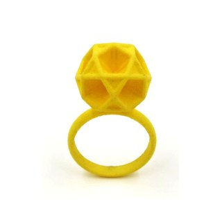 3D printing accessories Ring - Three Dimensional Printing x Tri-Pentagon Ring