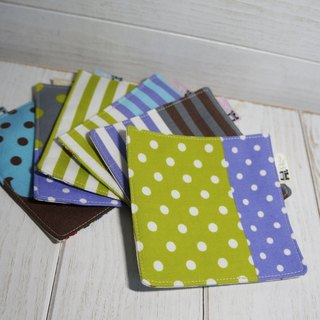 [Work] cloth fabric coasters