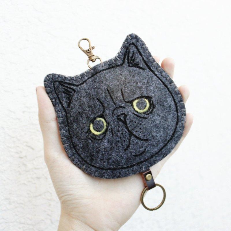 貓咪系列-鑰匙包Key sets gogoro鑰匙套