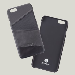 KAHLÚA -i6 / i6S PLUS leather back cover of the phone - Black