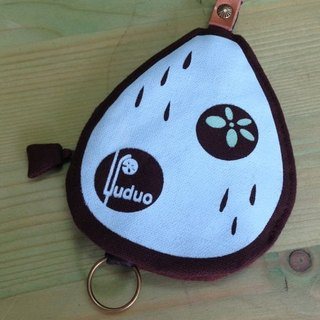 Little Raindrops love traveling ‧ key ring (brown), but when the purse