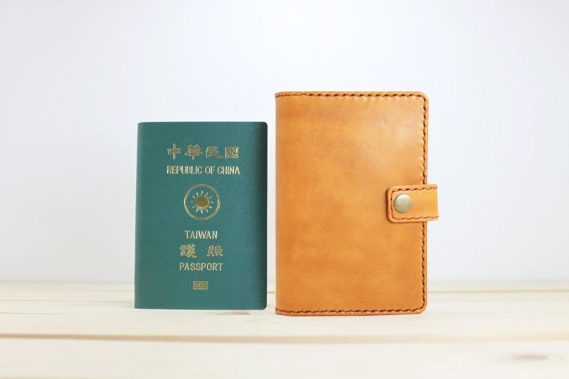 LION's Handmade Leather -- Passport Holder / Passport Case