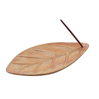 Earth Tree Hand Fair Trade fair trade -- soap stone leaf incense soap dish