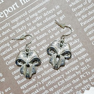 Alloy * bow * _ Hook Earrings