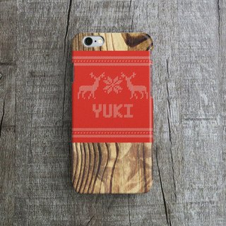 personalized, xmas, woody wooly - Designer iPhone Case. Pattern iPhone Case.