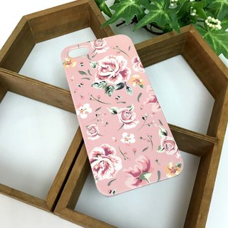 Rose Pink Print Soft / Hard Case for iPhone X,  iPhone 8,  iPhone 8 Plus, iPhone 7 case, iPhone 7 Plus case, iPhone 6/6S, iPhone 6/6S Plus, Samsung Galaxy Note 7 case, Note 5 case, S7 Edge case, S7 case