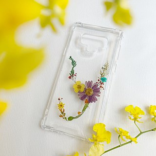 Y for Yanni:: initial pressed flower phonecase