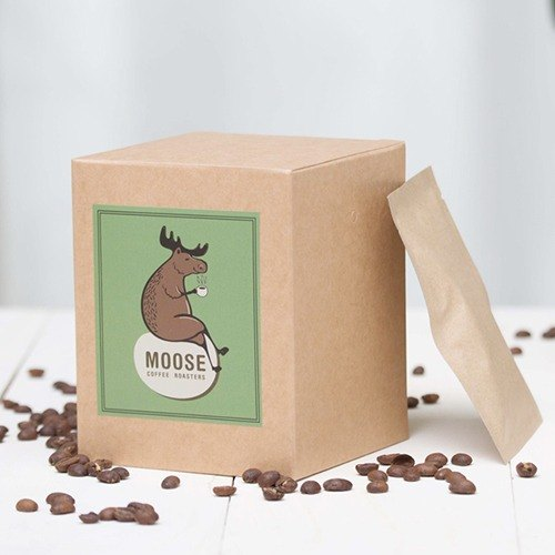 [MOOSE coffee roasting] (washed) Guatemala Antigua Valley, the United States Tina manor baking degree: roasted in the Nordic roasted coffee bag a box of ten into two boxes free shipping