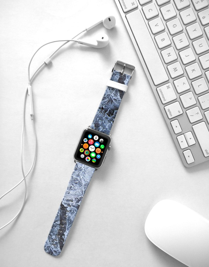Apple Watch Series 1 , Series 2, Series 3 - Ice Pattern Watch Strap Band for Apple Watch / Apple Watch Sport - 38 mm / 42 mm avilable