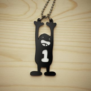【Peej】'I'm no1.' Double layered Acrylic key chains/necklaces