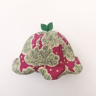 SALE! Grow Up! Leaf Hat for Baby & Toddler / Trees in Snowy Forest