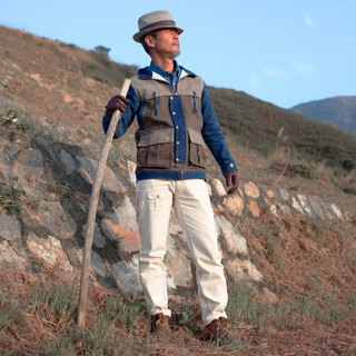 EARTH.er  │● WHITE HORSE Natural Off- White Outdoor Traveling Trouser │