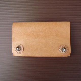 [ISSIS] hand-stitched handmade leather business card holder - (2)