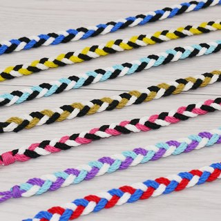 噗妃 - - pure hand-woven lucky bracelet surf foot ring foot rope P (cotton)