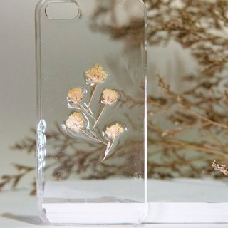 Han Alize(Custom) - Rapeseed Flower - Flower texture Transparent Case