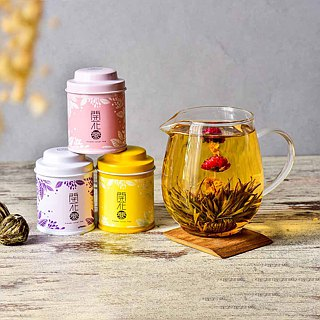 【Wu-Tsang】- Flower Lover Tea-small tea pot set (6 kind).