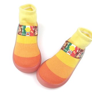 Feebees toddler shoes / socks shoes / indoor and outdoor wear - candy series - orange sugar